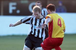 Football: Wimborne Town boss Simon Browne 'questions the logic' of Poppies swoop for Blake