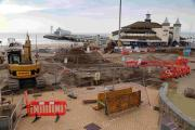 "Coming soon to Bournemouth Pier Approach: ""landmark"" tourism kiosk, new lighting and water features as work gets underway"