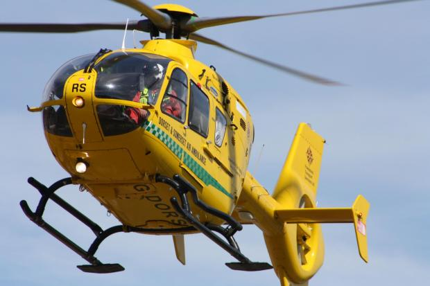 Woman fights for life and man seriously injured after two-vehicle crash in North Dorset