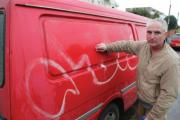 Anger as graffiti daubed over vans and property in Southbourne