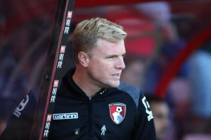 Eddie Howe: 'I am very happy here and want to move the club forward even more.'