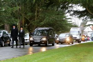 Hundreds turn out for funeral of popular Waitrose delivery driver