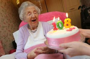 PICTURES AND VIDEO: Bournemouth's oldest resident turns 108