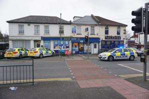Second man arrested over alleged store raid